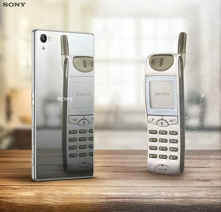 [صورة]♧ تغير هواتف سوني خلال16عام!