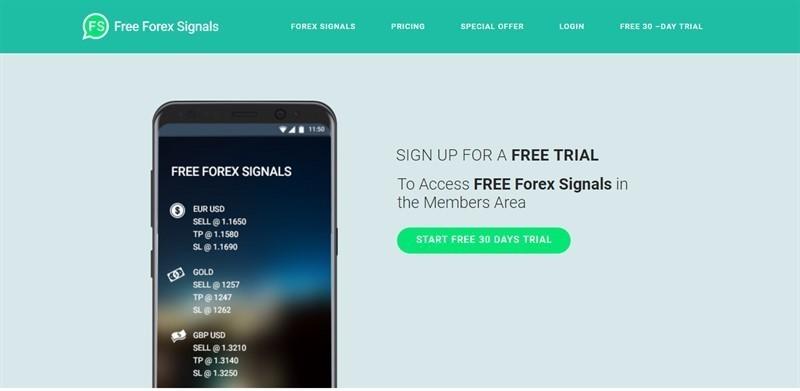 توصيات العملات مجانا من freeforex-signals.com L