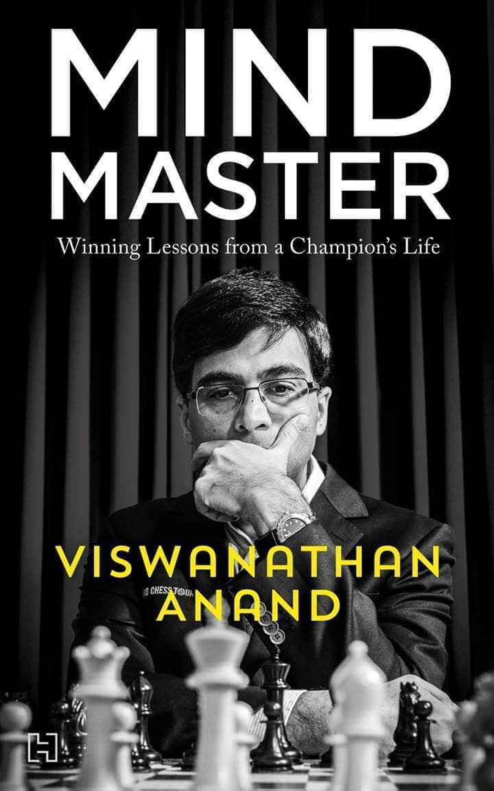 Mind Master - Winning Lessons from a Champion's Life - Viswanathan Anand - Book L