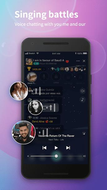 Hibaby.live تطبيق دردشة صوتية اجتماعية