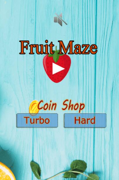 لعبه Fruit Maze