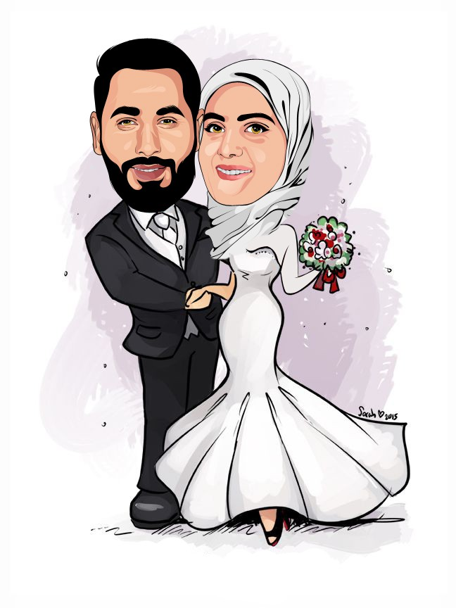 1d8f34ca75fd384ddabe47ebdb3c4dd4--wedding-caricature-wedding-couples