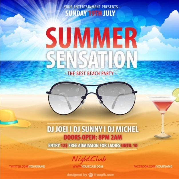 summer-party-poster-with-aviator-sunglasses_23-2147493128