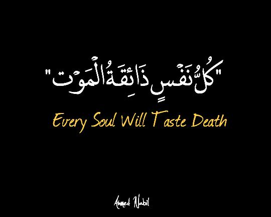 Image result for کل نفس ذائقته الموت