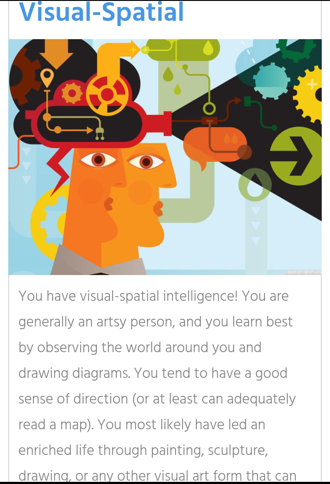 ما هو نوع ذكائك؟ اختر لنفسك