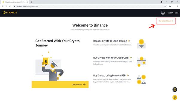 خطوات فتح حساب على منصة Binance  لشراء العملات الرقمية