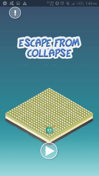تطبيق Escape From Collapse‏ l
