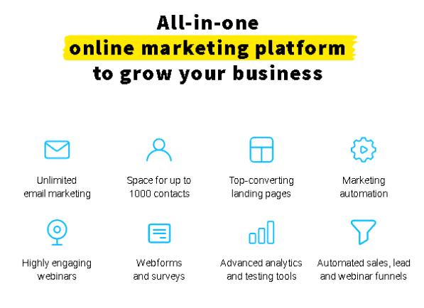 منصة التسويق عبر البريد الإلكتروني وإدارة الحملات عبر الإنترنت