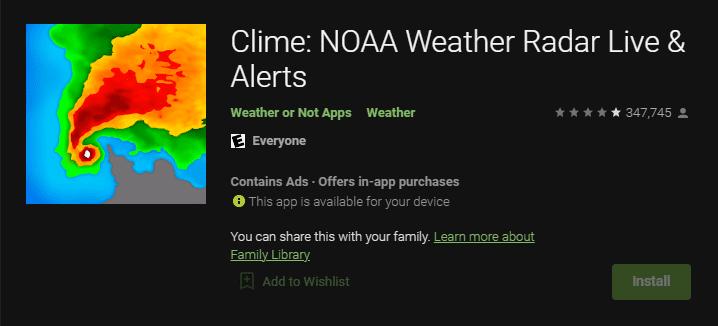 İklim: NOAA Hava Durumu Radarı Canlı ve Uyarılar