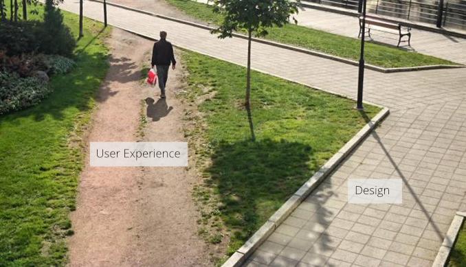 صورة: ما الفرق بين واجهة المستخدم (UI) وتجربة المستخدم (UX)؟ في مثال بسيط جدا.