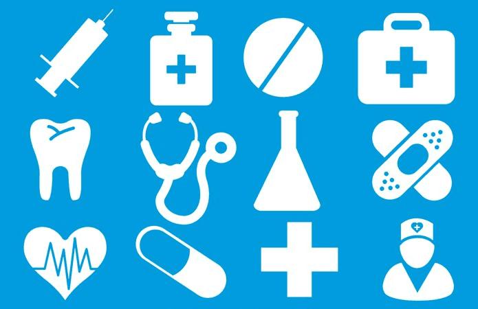 مجموعة فرش طبية للدعاية والاعلان
