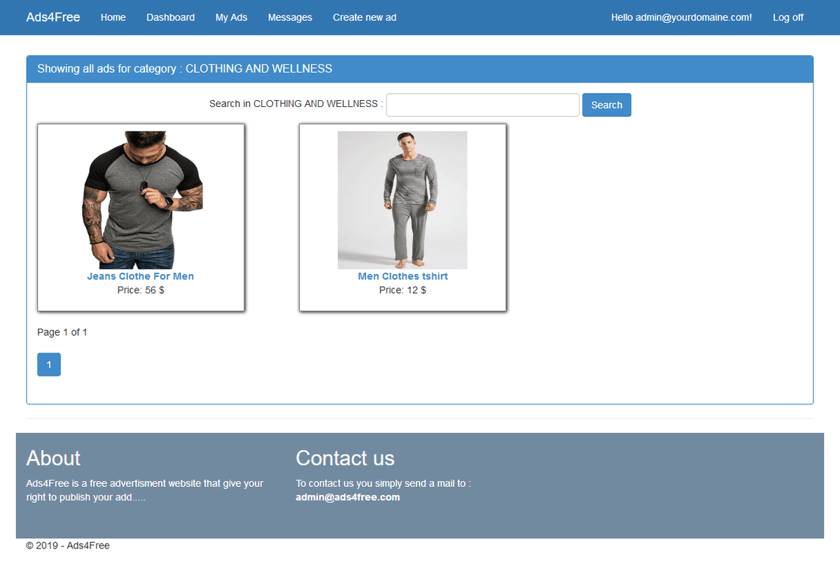 FireShot_Capture_037_-_Showing_all_ads_for_category___CLOTHING_AND_WELLNESS_-_Ads4Free_-_localhost