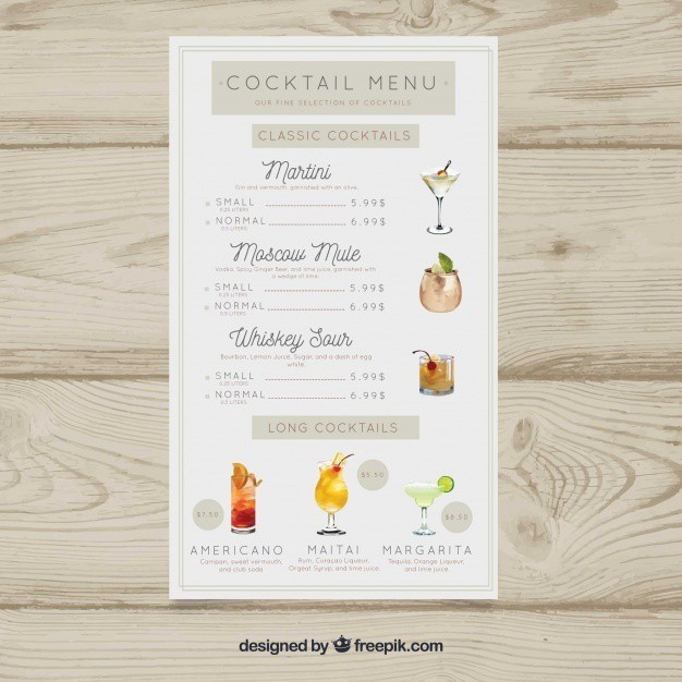 cocktails-menu-with-bar-list_23-2147868748