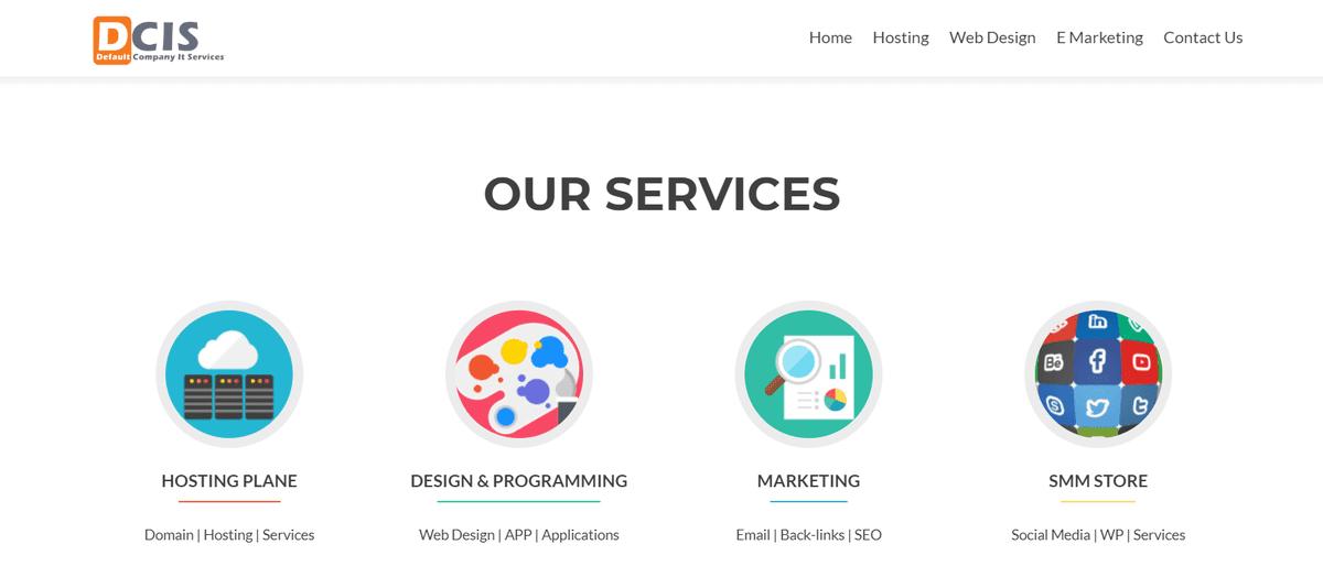 خدمات عديدة بنطاق واحد