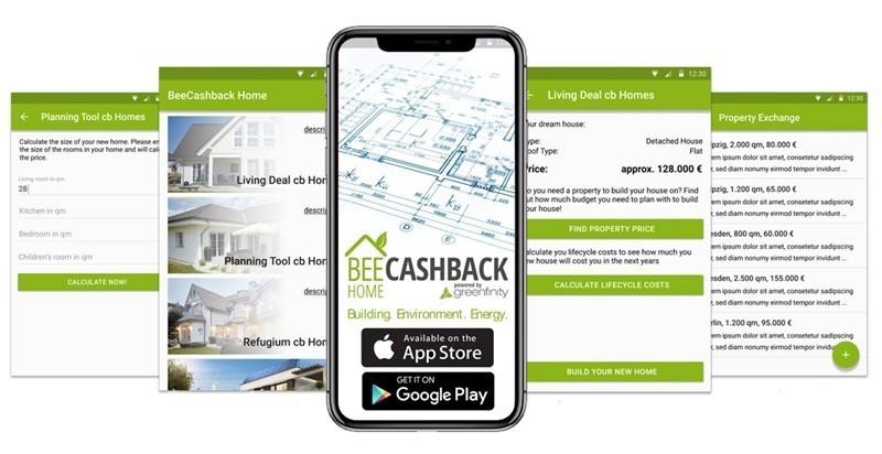 الحصول منزلك المستقبلي cashback