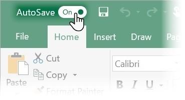 الحفظ التلقائي في Office 2016 يتيح لك الرجوع إلى الإصدارات السابقة من المستندات