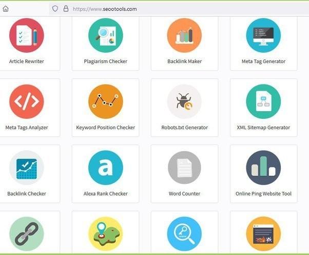 أهم الأدوات المجانية في مجال السيو SEO على موقع seootools.com