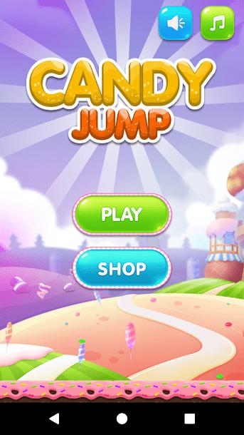 تطبيق Candy Jump