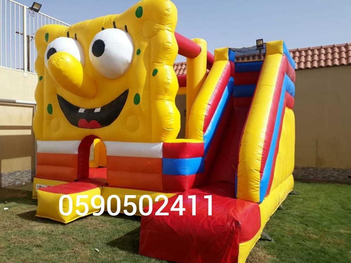 نطيطات ملعب صابوني زحاليق مائية فى الرياض
