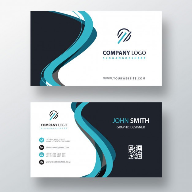 blue-abstract-shape-business-card-template_1409-813