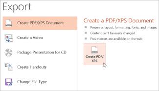 كيف تقوم بتحويل ملف PowerPoint إلى PDF