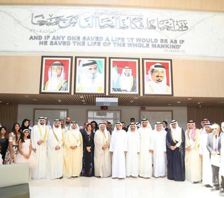 افتتاح المستشفى السعودي الألماني عجمان l