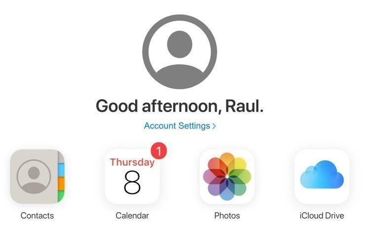 Comment accéder aux photos iCloud