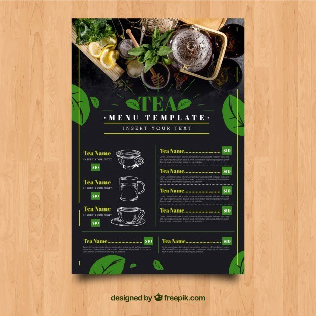 tea-menu-template-with-leaves_23-2147849245