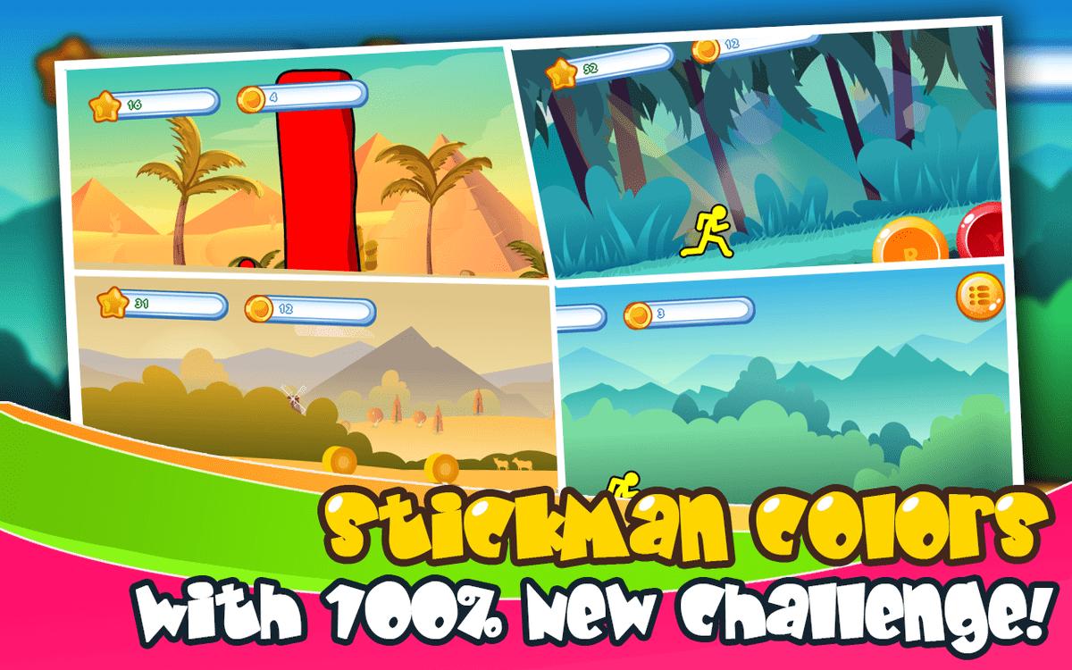 تطبيق Stickman Colors