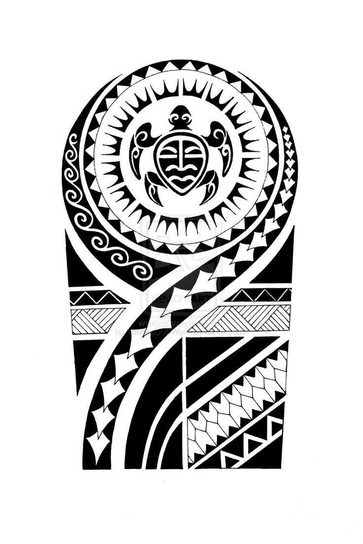 Attractive-Maori-Tattoo-Design