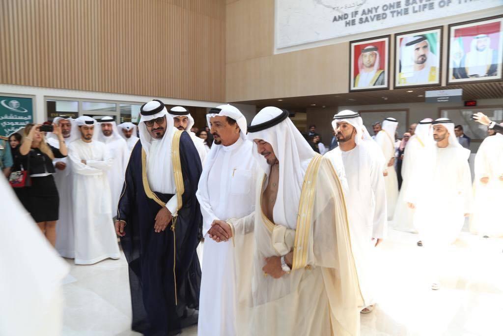 افتتاح المستشفى السعودي الألماني عجمان