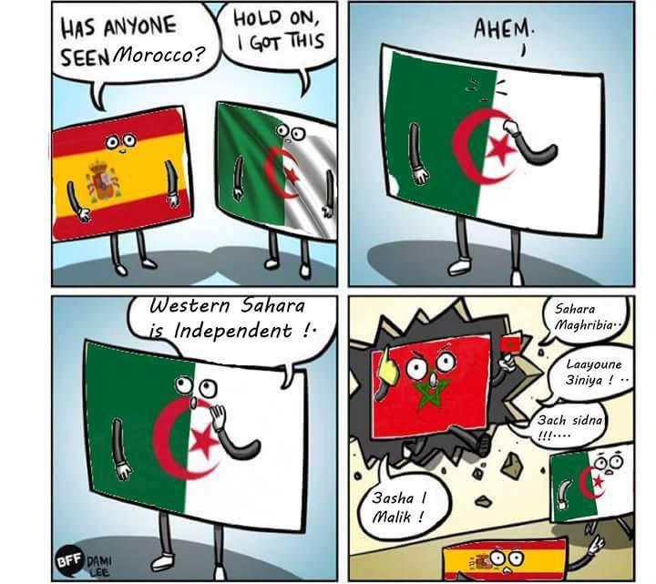 هل رأى أحدكم المغرب؟