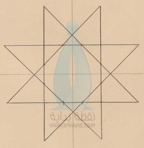 دورة رسم الزخارف الاسلامية الهندسية الجزء الأول حسوب I O