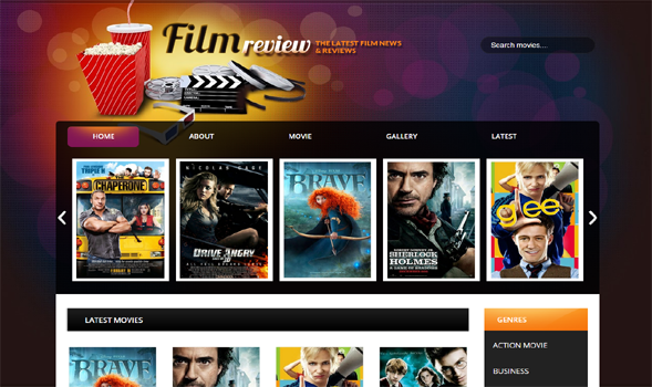 Film-Reviews-Blogger-Template