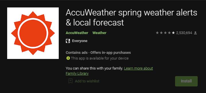 AccuWeather bahar hava durumu uyarıları ve yerel hava tahmini BBC Hava Durumu