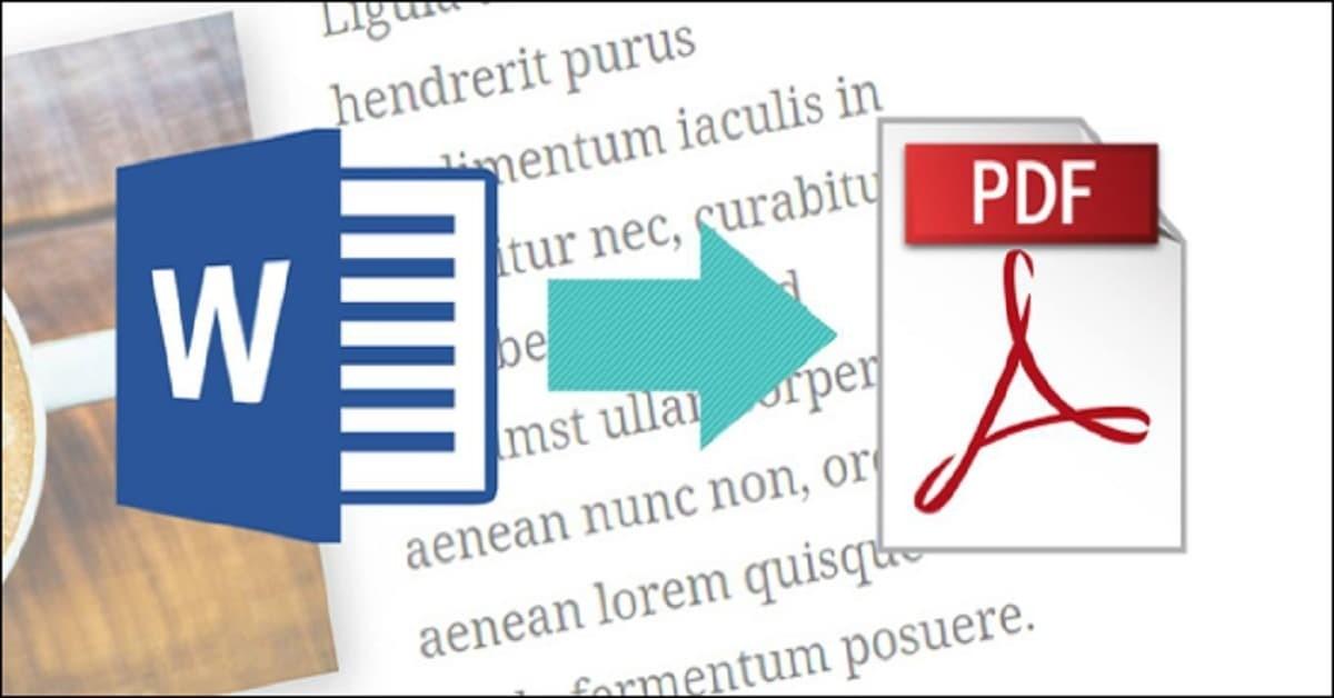 كيف تقوم بتحويل مستند Word إلى PDF؟